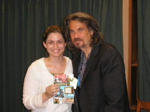 Me and Robby Benson at his booksigning - July 2007